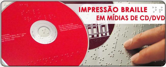 Impressão Braille em Mídias