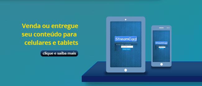 Venda ou entregue seu conteúdo para celulares e tablets