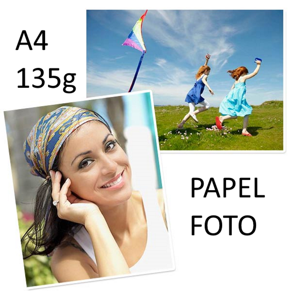 Papel Foto A4 Glossy