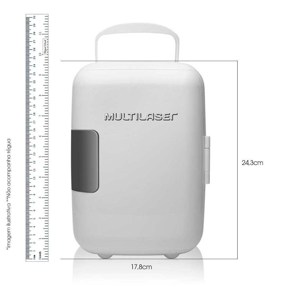 Mini Geladeira Portátil 4L