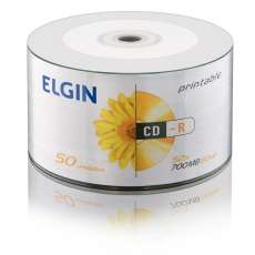 Cd-r Elgin printable 700mb 52x  - R$ 0,65