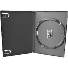 Dvd box amaray preto simples - R$ 1,19