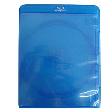 Dvd box bd blu ray azul - R$ 1,33