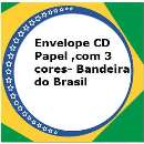 Envelope de cd papel Brasil - R$ 5,90