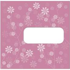 Envelope de cd Rosa - R$ 0,04