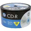 Cd-r 700 MB 52x 80 min HP - R$ 0,68