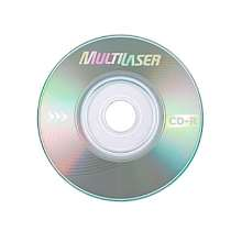 Mini cd-r 200mb 16x 21min multilaser