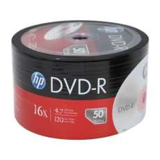 Dvd-r 4,7gb 16x 120min hp - R$ 0,79