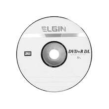 Dvd DL Elgin, Dvd+R 8,5gb 8x