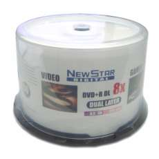 Dvd+r DL 8.5gb NewStar - R$ 1,91