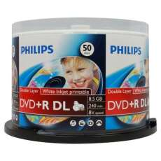 Dvd+r dual layer printable 8,5GB 8x - R$ 2,83