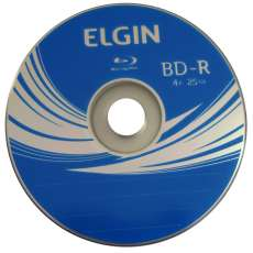 Blu-ray virgem Elgin 25gb 4x Bd-r - R$ 4,98