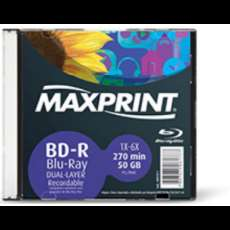 BD-R Blu-Ray Dual Layer 270min 50Gb - R$ 15,05
