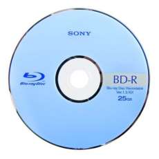 SONY Bluray 25gb com logo 6x BD-R  - R$ 2,56