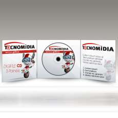 Digifile CD - 3 Painéis - 4x4 - R$ 1,02