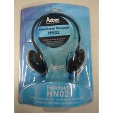 Headset Aztec - hn02 - headphone com microfone