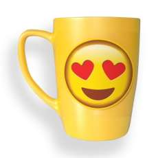 "Caneca Emoticon ""Apaixonado"" 300 ml - R$ 27,50"