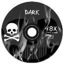 Cd-r silkado dark 48x 700mb - R$ 1,10