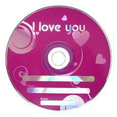 Cd-r i love you - R$ 0,73