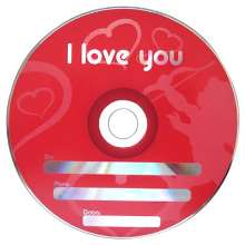Cd-r cupido - i love you