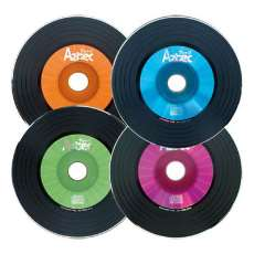 Cd-r aztec vinil kit 4 cores - R$ 0,80