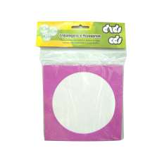 Envelopes para cd dvd Roxo - R$ 2,35
