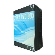 Dvd-box duplo preto 14mm - R$ 14,00