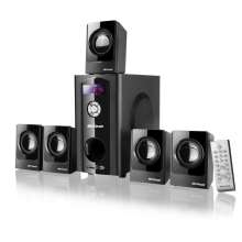 home theater 5.1 080W Rms Black Wave Bivolt SP110 - Multilaser