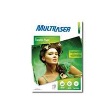 Papel Transfer 130g A4-Multilaser - R$ 64,55