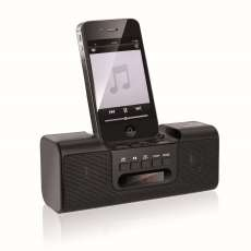 Dock Station Mp3, Rádio FM, USB, 8W - R$ 62,83