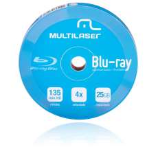 Blu-ray printable 25GB 4X 10 PÇS - R$ 21,50