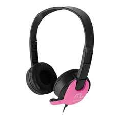 Headset com Microfone-Multilaser - R$ 46,78