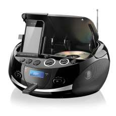 Boombox 20W USB/CD/FM/AUX/Apple - R$ 312,58