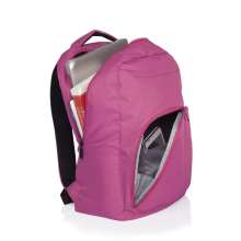 "Mochila para Notebook College 15"", Rosa - Multilaser BO318"