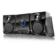 Mini System CD DVD Karaokê FM 40W - R$ 369,57