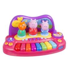 Piano com personagens Peppa Pig Multikids BR203