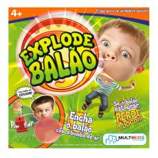 Explode balão Bubble Gum game Multi - R$ 40,99