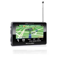 GPS 4,3 com TV FM Multilaser GP034 - R$ 194,05