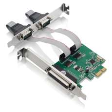 Placa PCI Express 2 Serial+Paralela - R$ 78,54