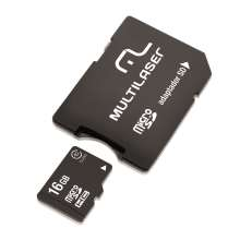 Cartão Micro SD 16GB - Multilaser MC110