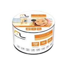 CD-R 52X 700MB Imprimivel Printable - Multilaser CD052