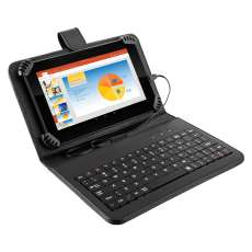 Tablet Multilaser com case teclado - R$ 318,63