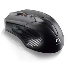 Mouse Wireless 1600 DPI - Multilase - R$ 31,88