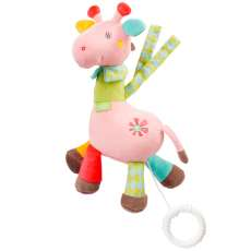 Pelúcia musical safari girafa Multi - R$ 62,77