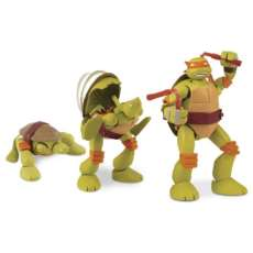 TMNT figuras Pet to Turtle Multikid - R$ 46,36