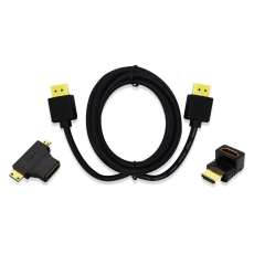 Kit HDMI HDMI 1.4 + Adaptador T+l - - R$ 41,76