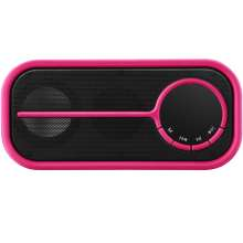 Caixa de Som Portátil Bluetooth 10W rosa Pulse SP209