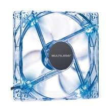 Cooler Fan 12x12 cm led azul Multilaser GA135