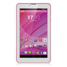 Tablet Quad Core 8 GB Rosa - Multil - R$ 370,12