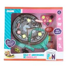 Creative Fun bolo de chocolate Mult - R$ 77,92